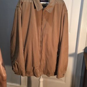 ❤️Roundtree & Yorke travel smart tan Jacket